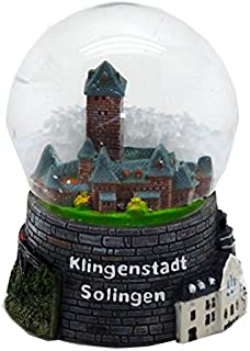 30019 Schneekugelhaus Snowglobe Bola de Nieve como Souvenir de la Ciudad Colonia
