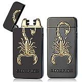 ARCLAND Briquet electronique Double Arc Briquet Eagle Lion Scorpion Dragon...
