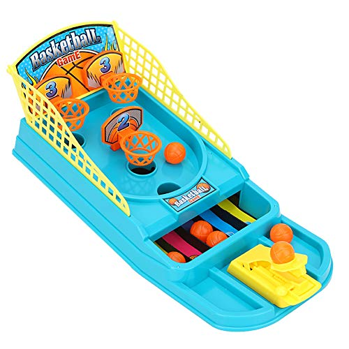 OhhGo Mini mesa de baloncesto soporte de baloncesto juego de tiro educativo para padres - niño interactivo juguete para niños (mini mesa de baloncesto juego)