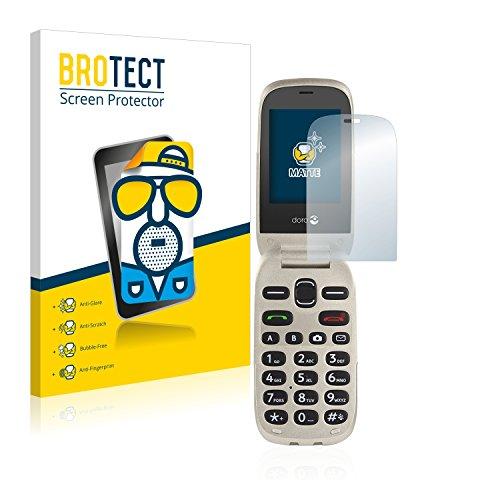 BROTECT 2X Entspiegelungs-Schutzfolie kompatibel mit Doro 6030 Bildschirmschutz-Folie Matt, Anti-Reflex, Anti-Fingerprint