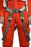 xcoser Poe Dameron Belt Deluxe Gray PU Belt Holster Buckle Cosplay Costume Accessory Prop