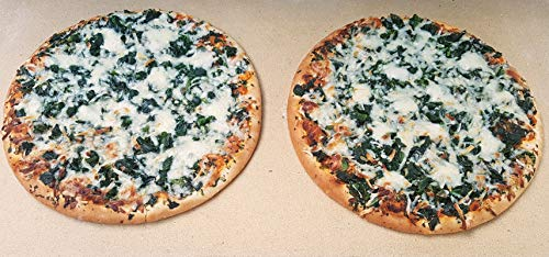 Pizzaplatte Pizzastein Backofenplatte 60 x 30 x 3 cm echte Schamotteplatte Flammkuchen Platte Deutsche Profi-Qualität Lebensmittelechtes Naturprodukt incl. Anleitung zur Verwendung