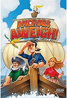 Z Man Games ZMGZM013 Anchors Aweigh, Mixed Colours