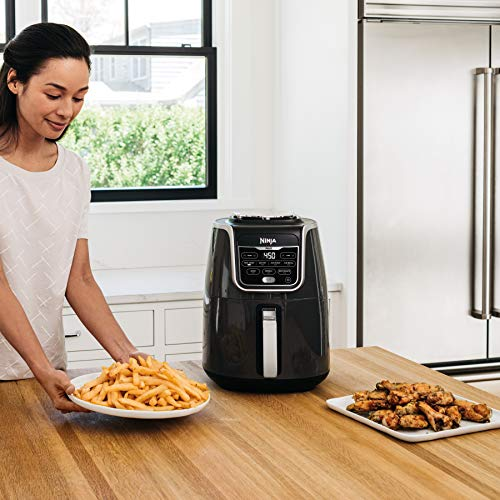 Ninja AF161 Max XL Air Fryer that Cooks, Crisps, Roasts, Broils, Bakes, Reheats and Dehydrates, with 5.5 Quart Capacity, and a High Gloss Finish