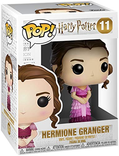 Funko Pop! Movies: Harry Potter - Hermione Granger Yule Ball #11 Vinyl Figure (Bundled with Pop Box Protector Case) image