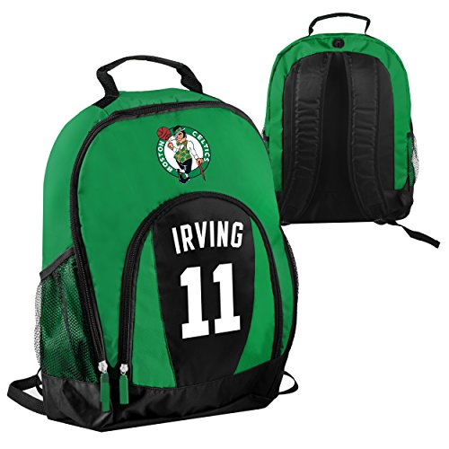 FOCO NBA Boston Celtics Kyrie Irving #11 Primetime Backpack School Gym Bag