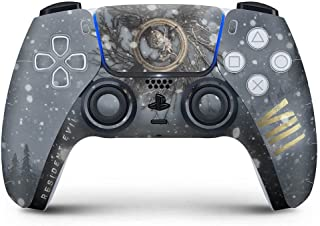 Skin Adesivo PS5 Controle Playstation 5 - Resident Evil Village