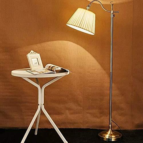 DYecHenG Lámpara de Piso Lámpara de Piso Retro Lámpara de Dormitorio LED Creativa Lámpara de pie Lámpara de pie labrado Lámpara de pie de Estilo Industrial para Oficina de Dormitorios