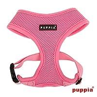 puppiapuppia正規販売店 pdcf-ac30胴輪 ソフトメッシュハーネス サイズ XS S M L M,PINK