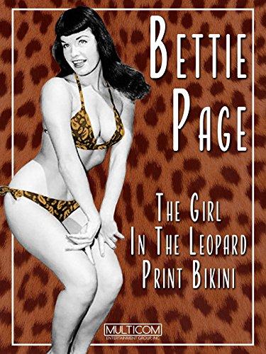 Bettie Page: The Girl in the Leopard Print Bikini [OV]