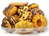 Italian Vanilla Cookie Assortment Baked in Brooklyn - Made and Shipped Fresh.- 2 Pounds