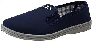 Salerno Side Elastic Band Textile Slip-on Shoes for Men