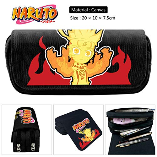 Barry Madge Effectieve Anime PU Rits Potlood Case Student Stationery Pen Bag Make-up Buidelzak Potlood H03