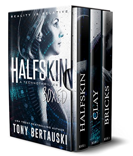 Halfskin Boxed: A Technothriller (Unreality Book 2)