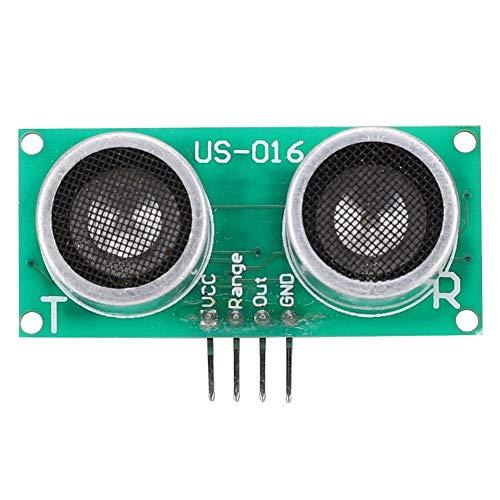Sensor por ultrasonidos, US-016 - Telémetro de distancia ultrasónico de alta precisión de tensión de salida analógica CC 5 V, 2-300 cm