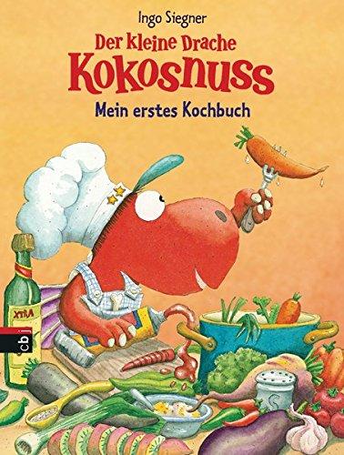 Der kleine Drache Kokosnuss - Mein erstes Kochbuch: Set mit Kinderschürze