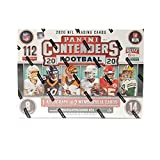 2020 Panini Contenders Football MEGA box (112 cards/box) 1 Autograph, 2 Memorabilia Cards