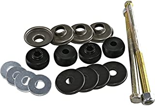 Eckler's Premier Quality Products 25-112785 - Corvette Leaf Spring Bolt Kit Rear Long