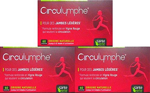 Santé verde Circulymphe 60 cps – Lote de 3 cajas