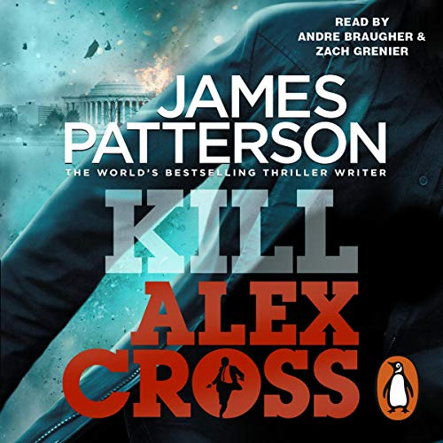 Kill Alex Cross audiobook cover art