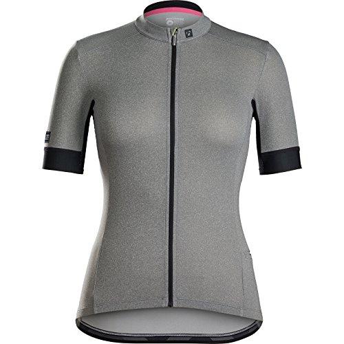 Bontrager Meraj Endurance Damen Fahrrad Trikot kurz grau 2021: Größe: M (36/38)
