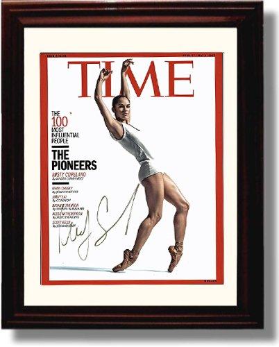 Framed Misty Copeland Autograph Replica Print - Ballet Prodigy