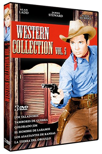 Guns of the Timberland/Drum Beat/The Naked Spur/The Man from Laramie/Kansas Raiders/Walk the Proud Land (WESTERN COLLECTION VOL.