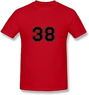 Men 38 Tshirts,Red T Shirt By HGiorgis