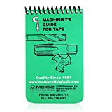 Morse Machinist's Guide for Taps – Machinist Handbook for Machinery Reference for Taps - Keep in Your Pocket or Toolbox