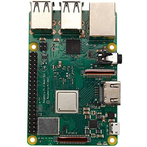 Cobeky Raspberry Pi 3 Modell B + (Plus) Board + Abs Fall + 5V 3A Netzteil mit WiFi und Set Transparent Eu Stecker
