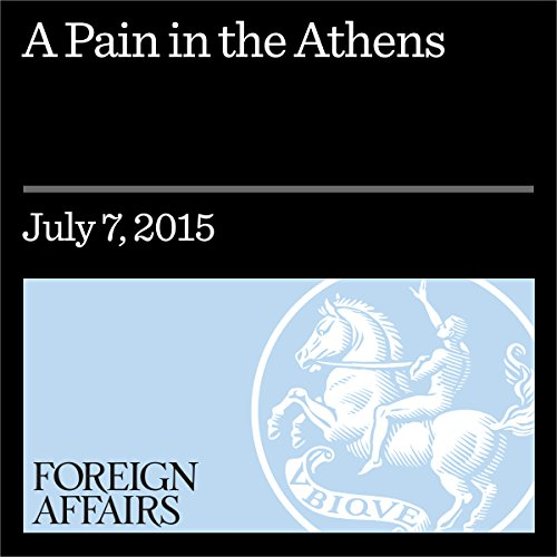 A Pain in the Athens audiobook cover art