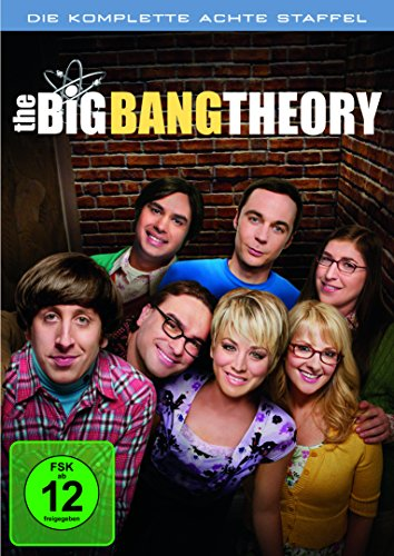 Cover The Big Bang Theory - Die komplette achte Staffel [3 DVDs]