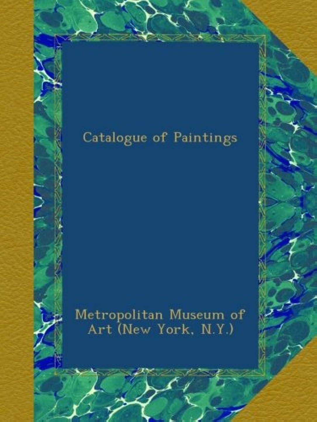拮抗高揚した抑圧するCatalogue of Paintings