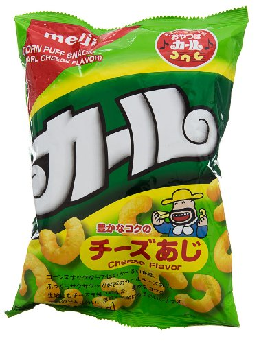 Meiji Karl Cheese Snack Bag, 2.53 Ounce