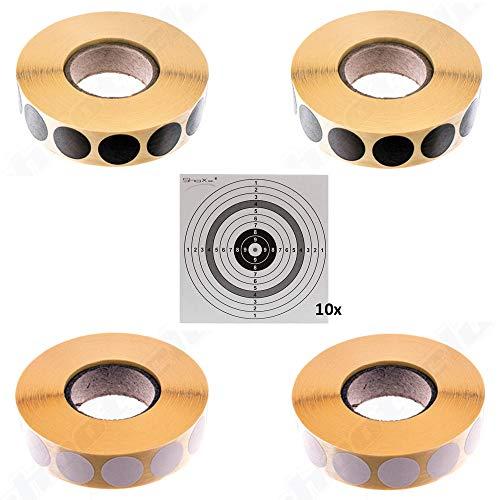 Avery Zweckform 3528 Schusspflaster 16 mm rot-braun 10000 Stück Punkte Pflasster