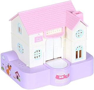 ZHCWT Piggy Bank,Puppy Stealing Money Bank, Dog Piggy Bank for Kids, Electric Music Money Saving Box House for Boys Girls