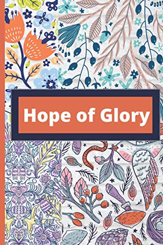 Hope Of Glory: There is a difference between the Glory of the Sun and the Moon. Glory swallow Glory in shining and even though if the glory is yet to shine there is a hope of glory waiting for you.