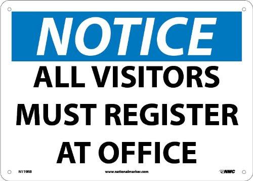 NMC N119RB OSHA Sign,