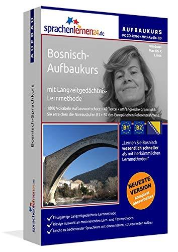 Sprachenlernen24.de Bosnisch-Aufbau-Sprachkurs: Lernsoftware auf CD-ROM für Windows/Linux/Mac OS X + Audio-Vokabeltrainer auf MP3-Audio-CD für Ihren Computer / MP3-Player / MP3-fähigen CD-Player