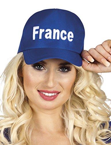 Casquette bleu supporter France adulte - taille - Taille Unique - 232844