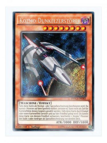 DOCS-DE085 Kozmo-Dunkelzerstörer 1. Auflage im Set mit original Gwindi Kartenschutzhülle