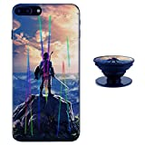 The Legend of Zelda iPhone 6 / 6s Case Shiny Laser Style Protective TPU Cover Soft Rubber Silicone with Phone Holder Bracket Compatible iPhone 6 6s (4.7 inch)