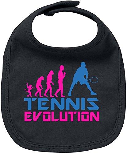 EZYshirt® Tennis Evolution Baby Lätzchen Halstuch