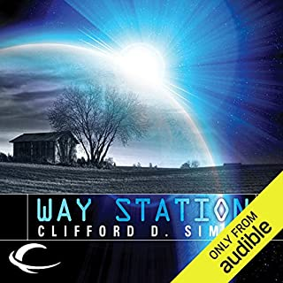 Way Station                    Written by:                                                                                                                                 Clifford D. Simak                               Narrated by:                                                                                                                                 Eric Michael Summerer                      Length: 7 hrs and 1 min     6 ratings     Overall 4.7