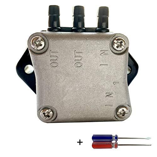 Fuel Pump Assy Fits for Yamaha Mercury Mariner 4-Stroke 25HP 30HP 35HP 40HP 45HP 50HP 55HP 60HP Boat Motor Outboard Engine Replace 62Y-24410-00 62Y-24410-01 62Y-24410-020304 826398A1 826398A3 826398T3