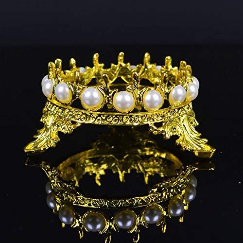 2019 nouvelle arrivée de haute qualité couronne incrustée perle strass Nail Pen Rack manucure brosse titulaire titulaire outil pour stylos à ongles 3