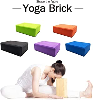 10Colors EVA Yoga Block Brick 120g Sports Exercise Gym Foam Workout Stretching Aid Body Shaping Health Training Fitness Se...