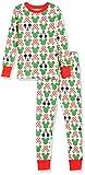 Amazon Essentials Boys Disney Star Wars Marvel Snug-Fit Cotton Pajamas Sleepwear Sets, 2-Piece Mickey Holiday, Small