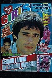 BOYS et GIRLS n° 250 11 au 17 octobre 1984 Gérard LANVIN - Poster Jeanne MAS - BRUEL CHARBY - Rod STEWART