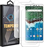 Ycloud 4 Pack Verre Trempé pour BQ Aquaris X2 Pro, HD Transparent Screen Protector [Anti-Rayures]...